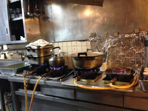 sushi bar at Tsukiji area
