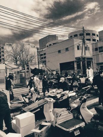 Tsukiji scenery