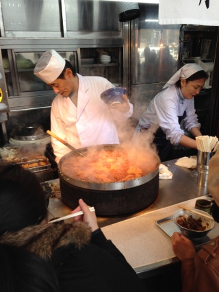 Japanese cooking street style