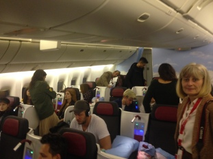 all the bloggers on board