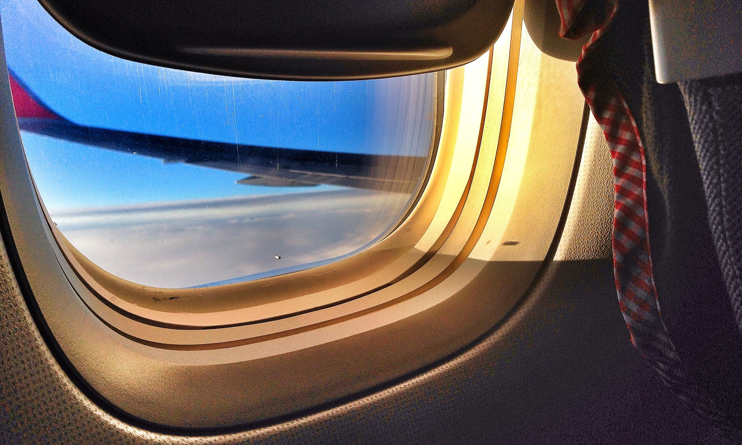 You're always in charge of your view when sitting on a window seat.