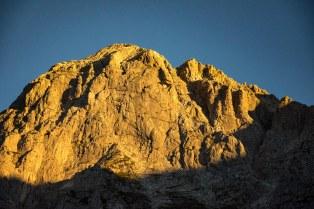 Bergmassiv auf dem Weg zur Heßhütte, August 28, 2016