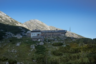 Heßhut, the most famous hut in the region