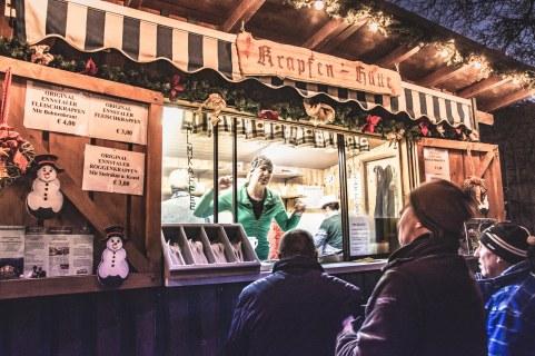 Krapfen Hütte 2, Admonter Adventmarkt